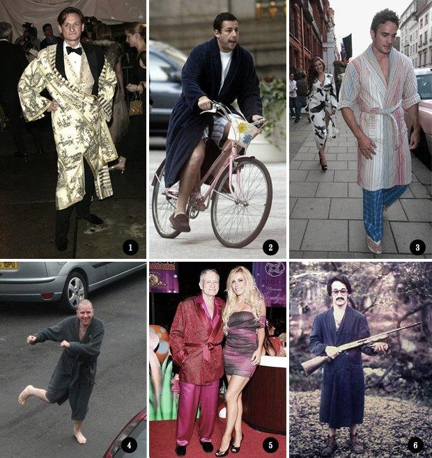 Изумительный плейбой: Как носить халат в публичном месте. Изображение № 5.