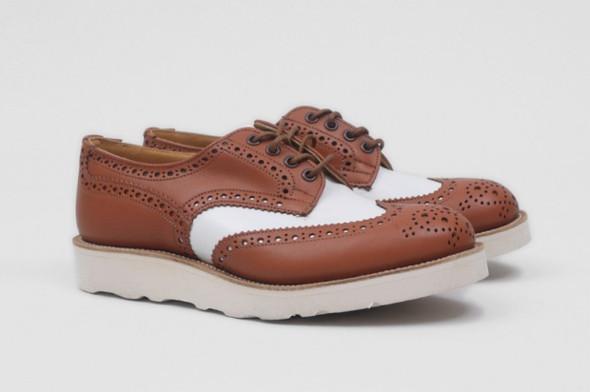 Совместная коллекция обуви марки Tricker's и Present. Изображение № 6.