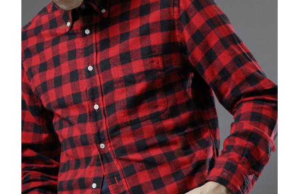 Американская марка Gitman Bros. выпустила линейку рубашек к будущей осени. Изображение № 2.