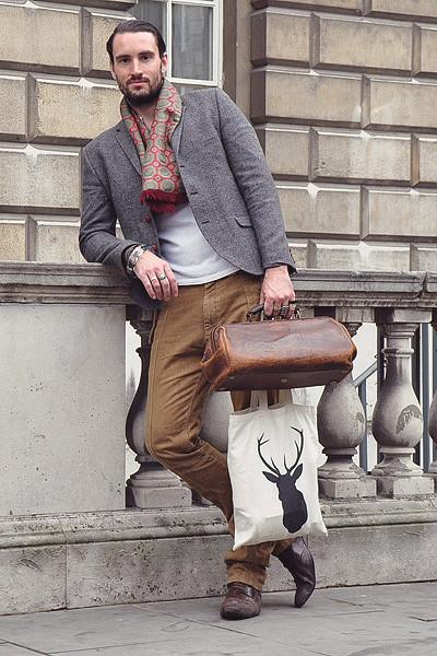 Уличный стиль на неделе моды в Лондоне. Изображение № 25.