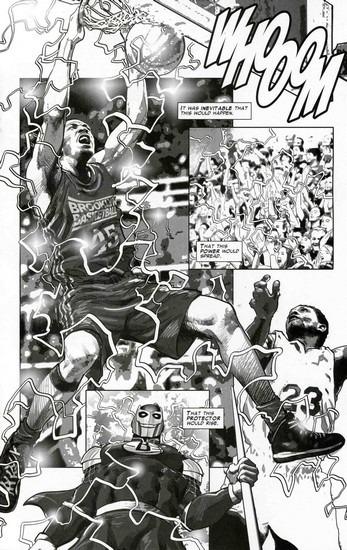 Marvel представили первого в истории супергероя-баскетболиста. Изображение № 14.