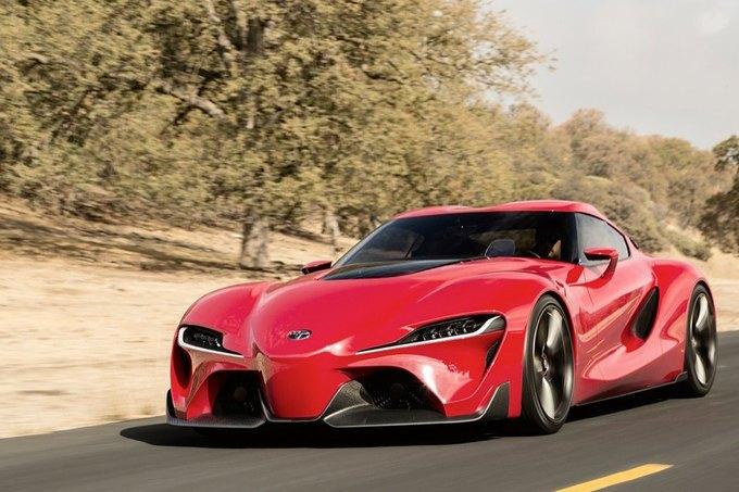 Toyota представила концепт спорткара FT-1. Изображение № 8.