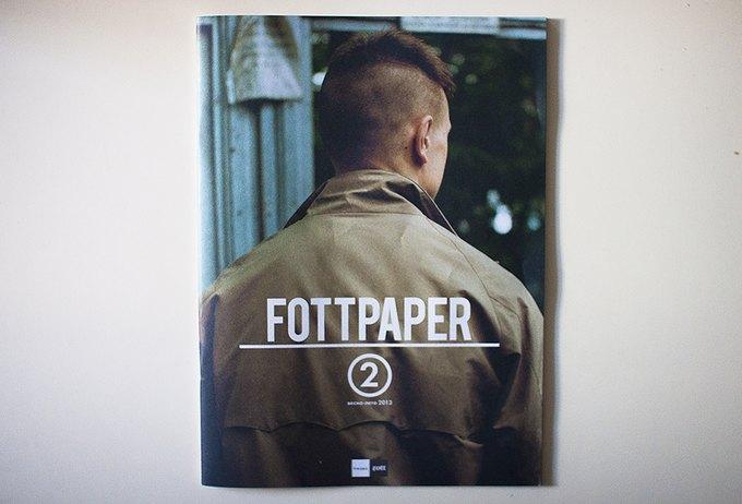 Новый номер журнала Fottpaper. Изображение № 1.