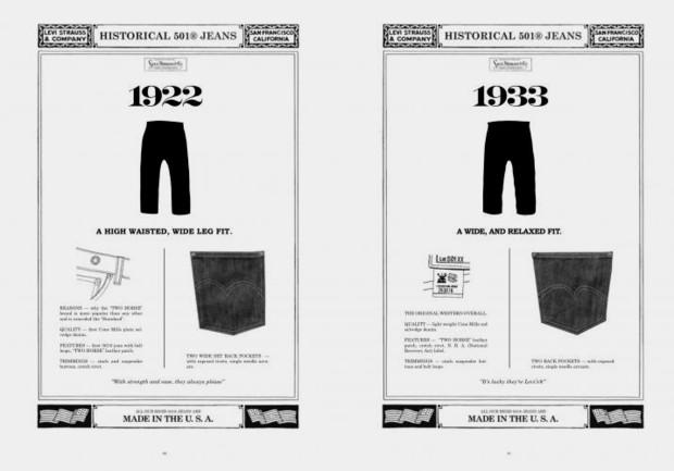 Марка Levi's Vintage Clothing выпустила лукбук осенней коллекции одежды. Изображение № 14.