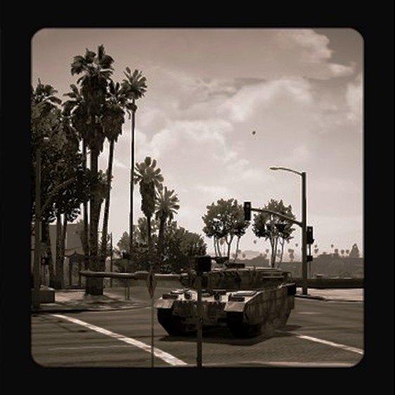 Агентство Media Lense: Фоторепортажи из горячих точек и бандитских районов в GTA V Online. Изображение № 13.