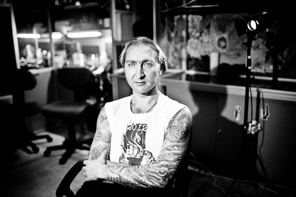 Бьет — значит любит: Старейшие татуировщики Москвы и их лучшие работы. Изображение № 1.