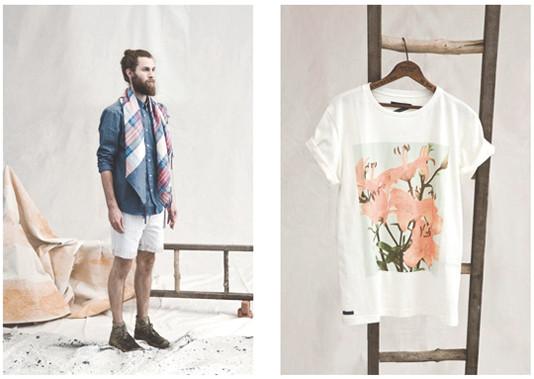 Французская марка Hixsept выпустила лукбук весенней коллекции одежды. Изображение № 1.