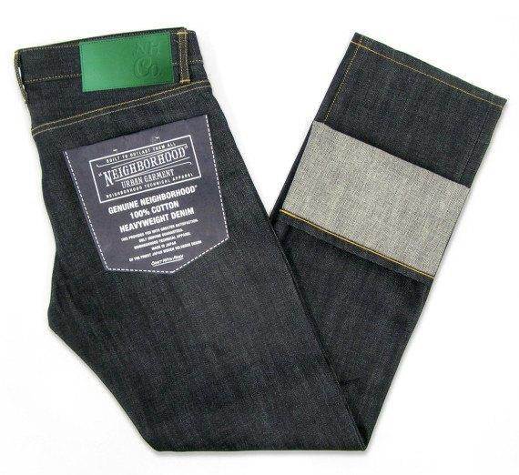 Японский бренд Neighborhood и пивоварня Heineken сшили совместную модель джинсов. Изображение № 2.