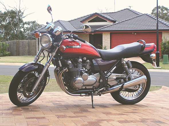 Kawasaki Zephyr. Изображение № 18.