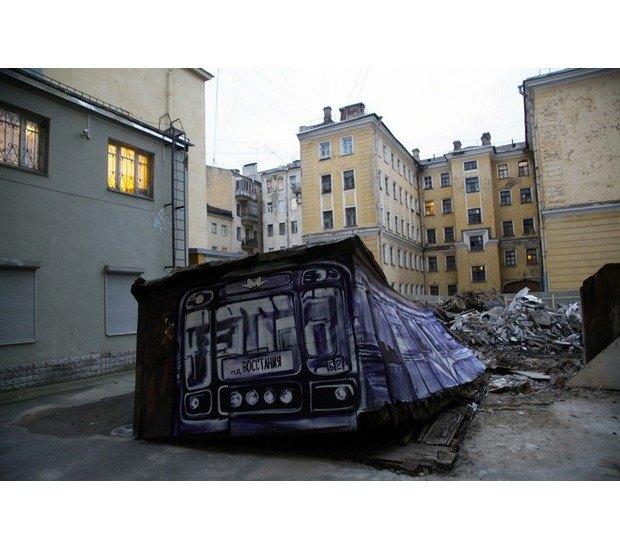 Умер уличный художник Паша 183. Изображение № 11.