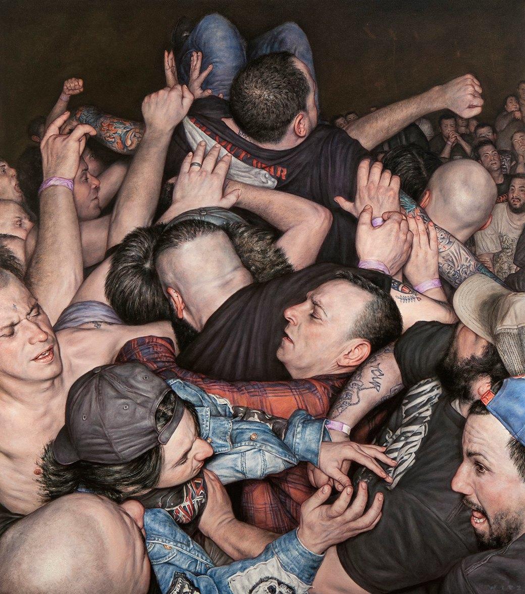 Эстетика мошпита: Хардкор-живопись, вдохновлённая Рубенсом и Босхом. Изображение № 17.