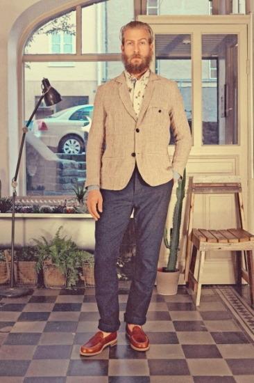 Марка Uniforms for the Dedicated опубликовала лукбук весенней коллекции одежды. Изображение № 7.