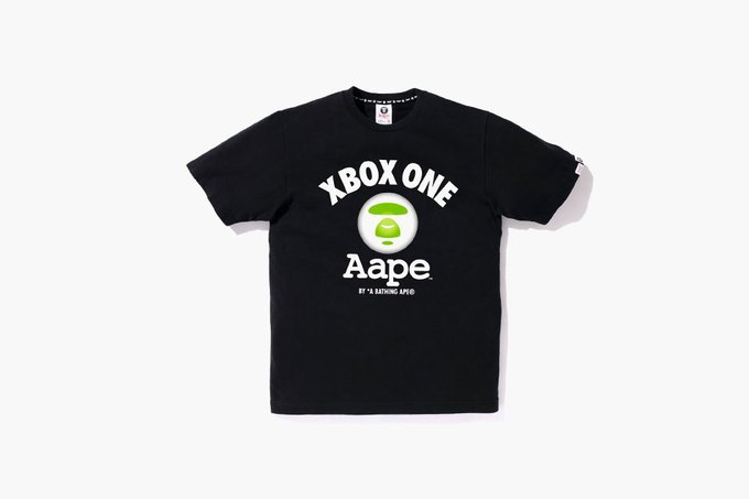 Aape by Bape и Micrososft представили камуфлированный Xbox One. Изображение № 3.