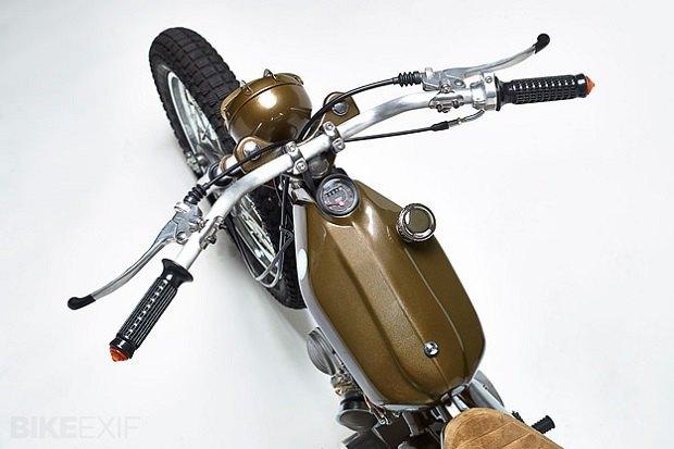 Мастерская Super Motor Company собрала новый мотоцикл на базе Honda Super Cub. Изображение № 3.
