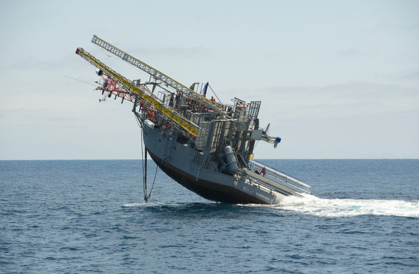 Единственный в мире корабль-перевертыш отметил полувековой юбилей. Изображение № 2.