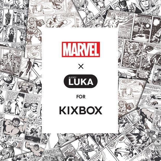 Магазин Kixbox, Marvel и российские художники выпустили совместную коллекцию футболок . Изображение № 3.