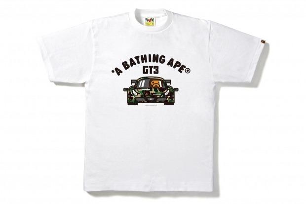 Марка A Bathing Ape и компания Ferrari представили совместную коллекцию одежды. Изображение № 6.
