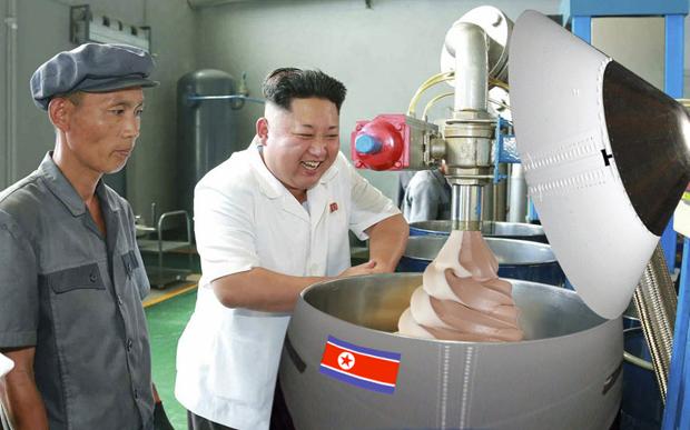Поход Ким Чен Ына на завод смазок стал новым интернет-мемом . Изображение № 8.