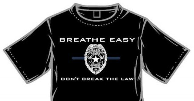 В США полицейский начал кампанию против акции #ICantBreathe. Изображение № 1.