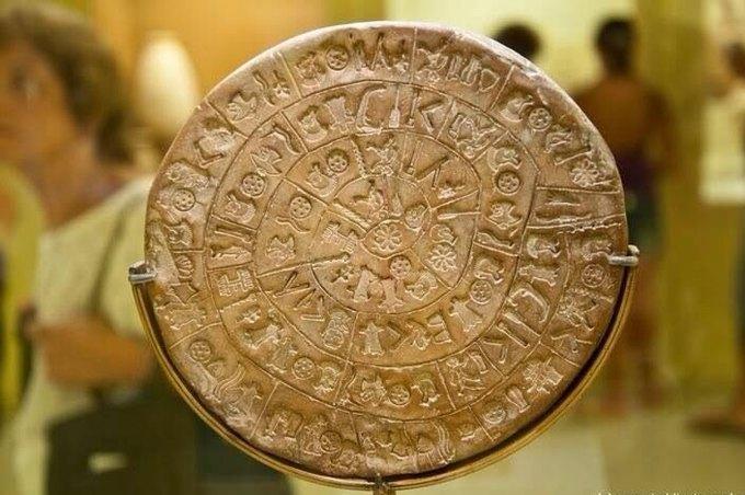 Учёные расшифровали несколько символов с «древнейшего компакт диска». Изображение № 1.