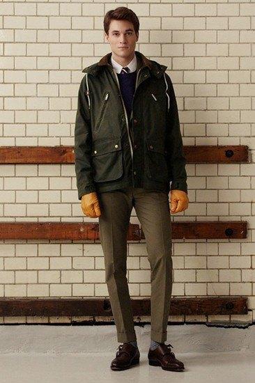 Марка Gant Rugger опубликовала лукбук осенней коллекции одежды. Изображение № 13.