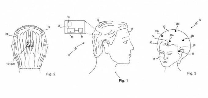 Sony запатентовала «умный» парик с Wi-Fi. Изображение № 1.