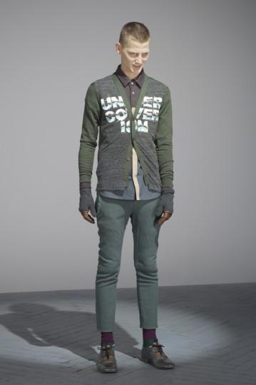 Японская марка Undercover выпустила лукбук осенней коллекции одежды. Изображение № 22.