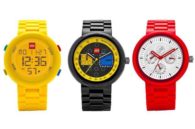 Компания Lego анонсировала новую линейку часов-конструкторов. Изображение № 1.