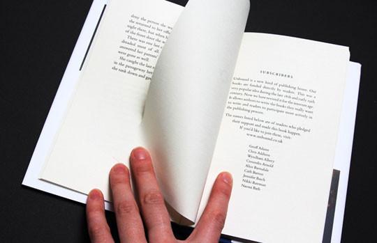 Книга английского писателя Тибора Фишера —второй релиз проекта Unbound. Изображение № 5.