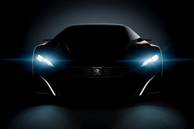 Peugeot анонсировал выпуск гибридного суперкара Onyx. Изображение № 1.