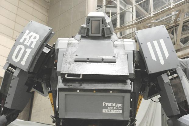 В Японии произвели четырехметрового боевого робота. Изображение № 7.