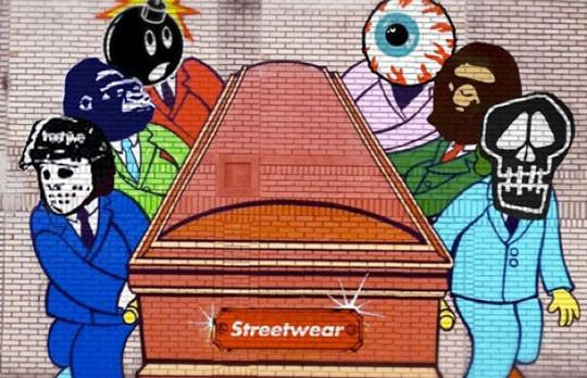 Художник Sever выпустил новую работу на тему смерти уличной одежды. Изображение № 1.