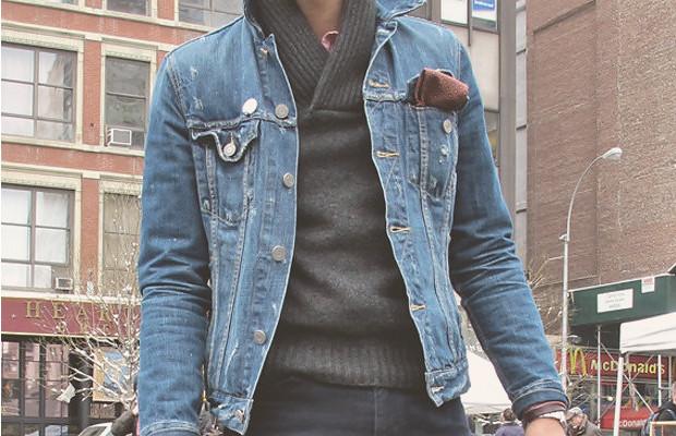 Джинсовая куртка мужская westland