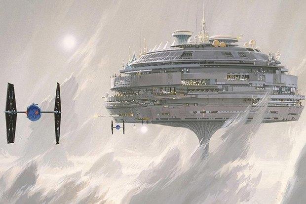 В сети появился оригинальный концепт-арт «Звёздных войн». Изображение № 10.