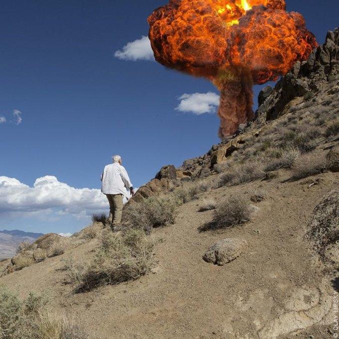Atomic Overlook: Атомный взрыв как туристический объект на фото Клэя Липски. Изображение № 8.