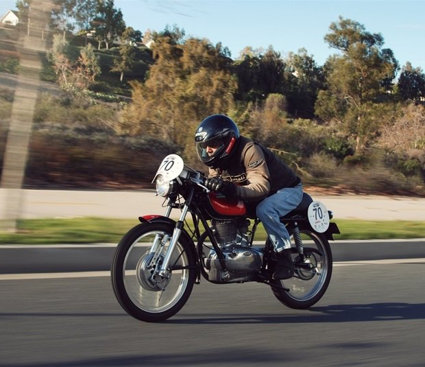 Мастерская Vintage Italian Restoration представила мотоцикл Gilera 175 Milano Taranto. Изображение № 5.