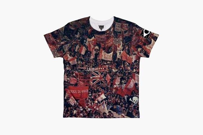 Марка Eleven Paris к чемпионату мира по футболу представила коллекцию футболок. Изображение № 5.