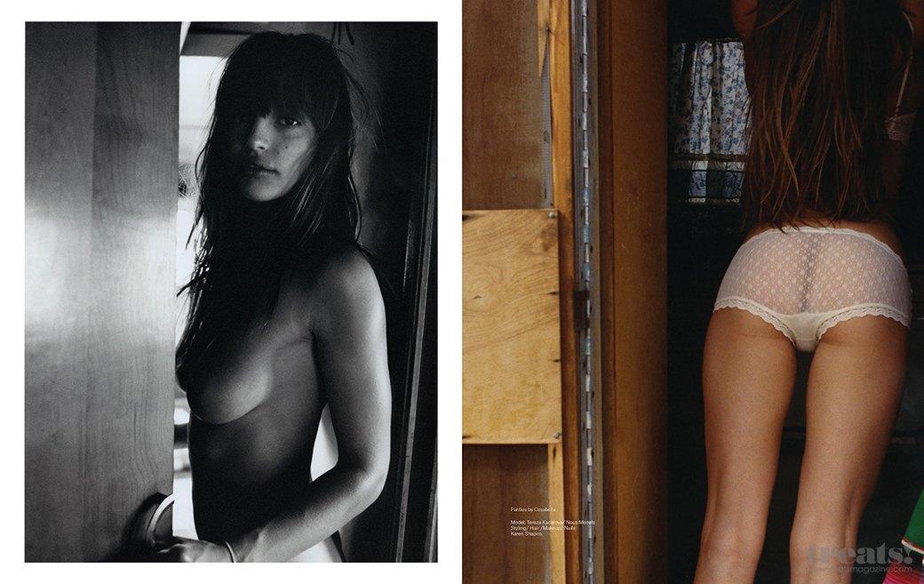 Штефан Вюрт сфотографировал Терезу Кацерову для нового номера журнала Treats!. Изображение № 7.