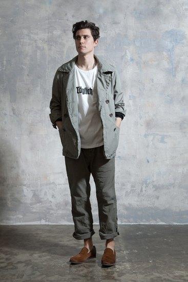 Японская марка Nonnative выпустила лукбук осенней коллекции одежды. Изображение № 15.