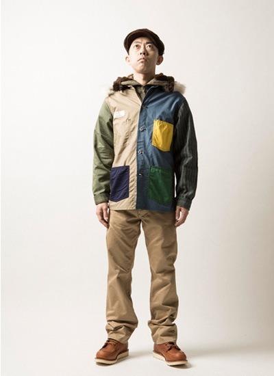 Японская марка Human Made опубликовала второй осенний лукбук. Изображение № 5.