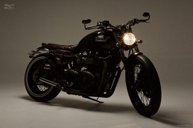 Мастерская Ellaspede представила новый кастом на базе мотоцикла Triumph Bonneville. Изображение № 4.