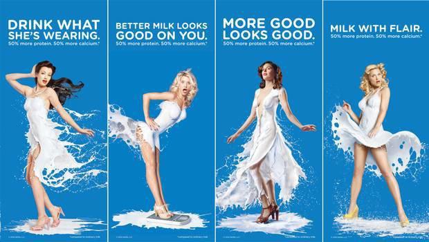 Рекламу молока производства Сoca-Cola посчитали сексистской. Изображение № 1.