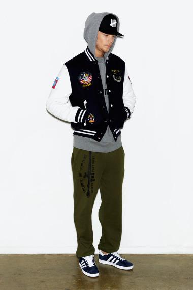 Марка Undefeated выпустила лукбук новой коллекции одежды своей линейки Holiday. Изображение №1.