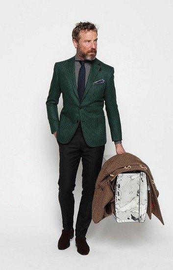 Марка Ovadia & Sons опубликовала лукбук осенней коллекции одежды. Изображение № 15.