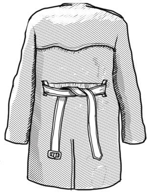 Совет: Как завязывать пояс на тренче. Изображение № 2.