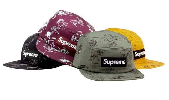 Уличная одежда Supreme: весенне-летний лукбук, кепки, рюкзаки и аксессуары. Изображение № 22.