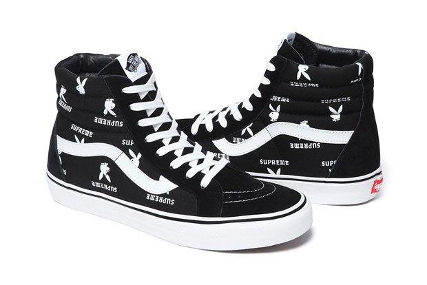 Марки Vans, Supreme и  Playboy выпустили совместную коллекцию обуви. Изображение № 5.