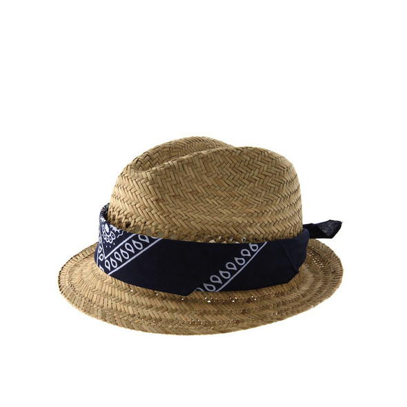 ASOS Blue Bandanna Band Trilby Hat, 15.00£ . Изображение №68.
