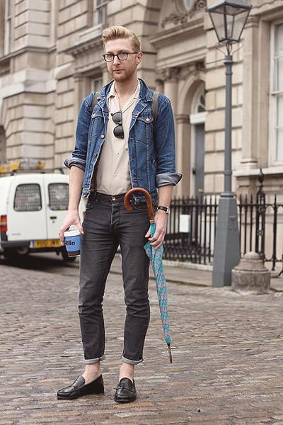 Уличный стиль на неделе моды в Лондоне. Изображение № 13.