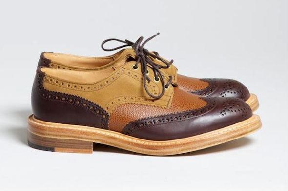 Совместная коллекция обуви Trickers и Superdenim. Изображение № 1.